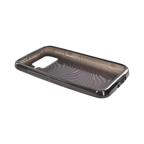 HTC Inspire 4G Crystal Silicone Case - Smoke Waves