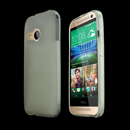 Clear HTC One Remix Flexible Crystal Silicone TPU Case - Conforms To Your Phone Without Stretching Out!