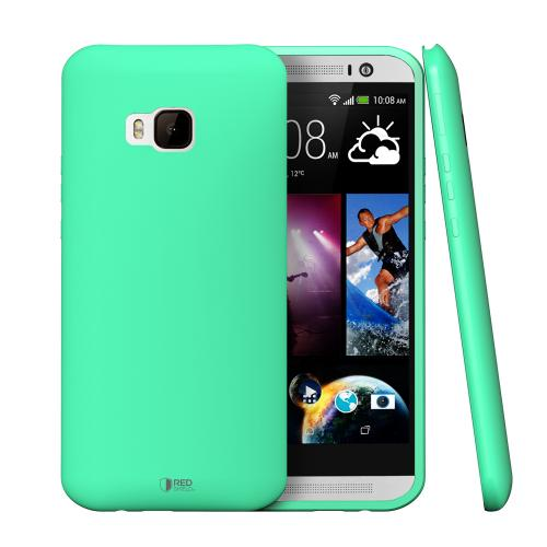 HTC One M9 Case, REDshield [Mint]  Slim & Flexible Anti-shock Crystal Silicone Protective TPU Gel Skin Case Cover