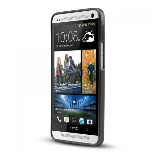 Black Crystal Silicone Skin Case for HTC One