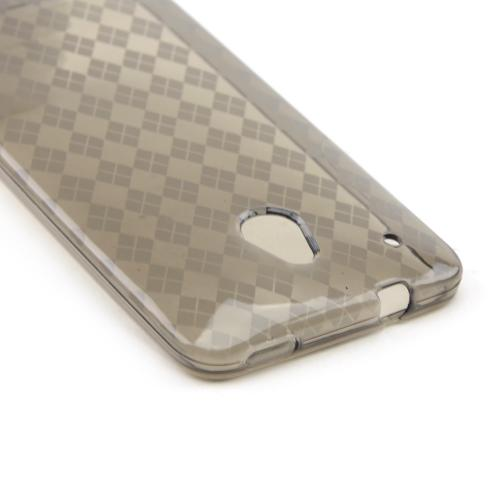 Smoke Crystal Silicone Skin Case for HTC One Mini