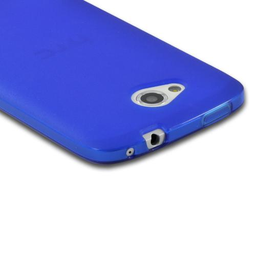 Blue Crystal Silicone Case for HTC One VX