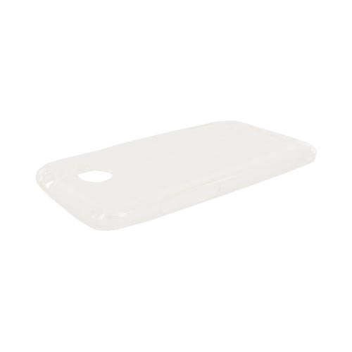 HTC One X Crystal Silicone Case - Argyle White