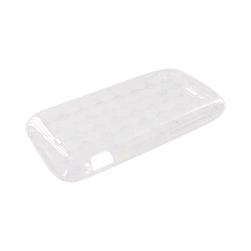HTC Sensation 4G Crystal Silicone Case - Argyle Clear