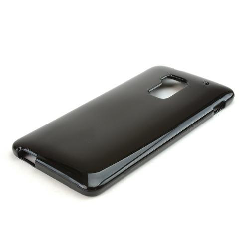 Black Crystal Silicone Skin Case for HTC One Max