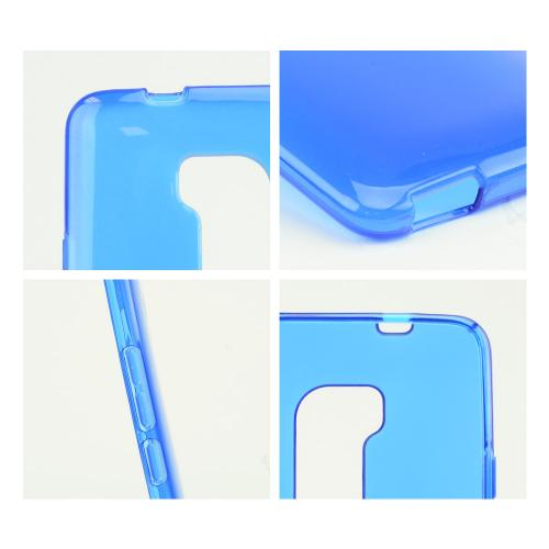 Blue Crystal Silicone Skin Case for HTC One Max