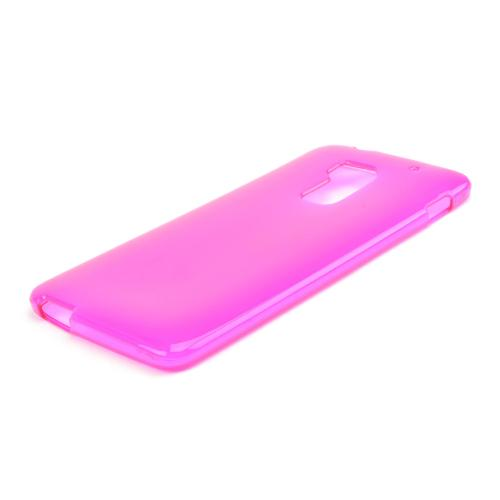 Hot Pink Crystal Silicone Skin Case for HTC One Max