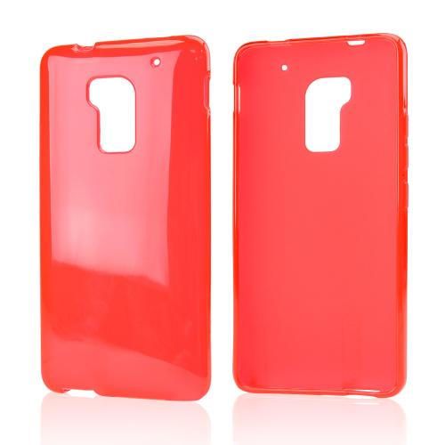 Red Crystal Silicone Skin Case for HTC One Max