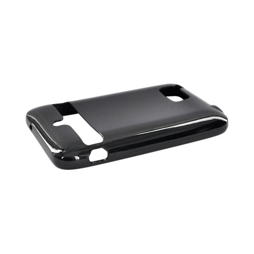 HTC Thunderbolt Crystal Silicone Case - Black
