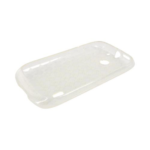 AT&T Fusion U8652 Crystal Silicone Case - Argyle Clear