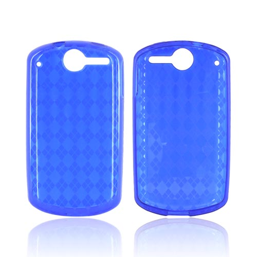 AT&T Impulse 4G Crystal Silicone Case - Argyle Blue