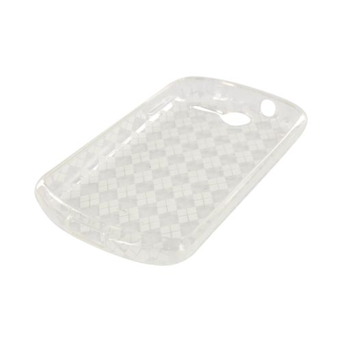 AT&T Impulse 4G Crystal Silicone Case - Argyle Clear