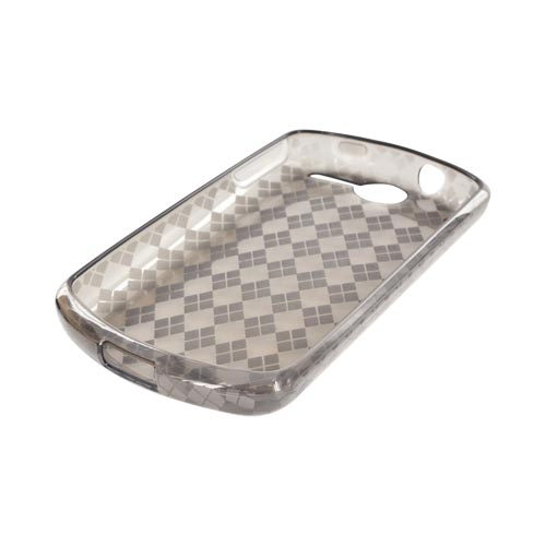 AT&T Impulse 4G Crystal Silicone Case - Smoke