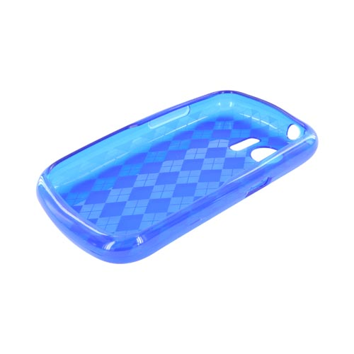 Huawei Pinnacle M635 Crystal Silicone Case - Argyle Blue