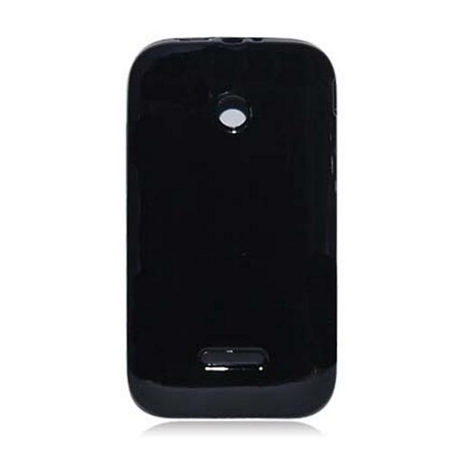 Black (Argyle Interior) Crystal Silicone Skin Case for T-Mobile Prism 2