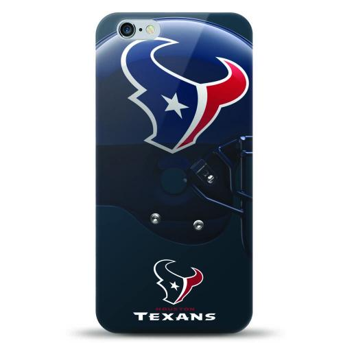 [MIZCO] Apple iPhone 6/6S (4.7 inch) Case, Helmet Series NFL Licensed [Houston Texans] Slim & Flexible Anti-shock Crystal Silicone Protective TPU Gel Skin Case Cover