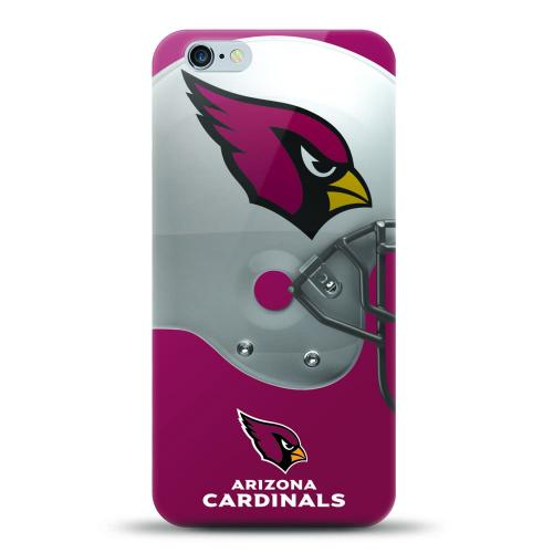 [MIZCO] Apple iPhone 7 (4.7 inch) Case, Helmet Series NFL Licensed [Arizona Cardinals] Slim & Flexible Anti-shock Crystal Silicone Protective TPU Gel Skin Case Cover