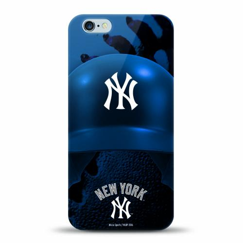 [MIZCO] Apple iPhone 7 (4.7 inch) Case, Helmet Series MLB Licensed [New York Yankees] Slim & Flexible Anti-shock Crystal Silicone Protective TPU Gel Skin Case Cover