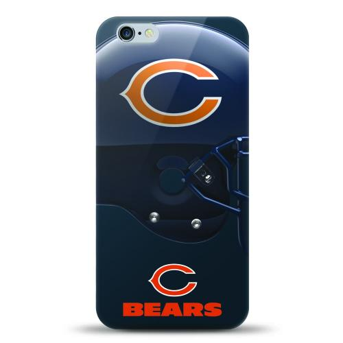 [MIZCO] Apple iPhone 7 Plus (5.5 inch) Case, Helmet Series NFL Licensed [Chicago Bears] Slim & Flexible Anti-shock Crystal Silicone Protective TPU Gel Skin Case Cover