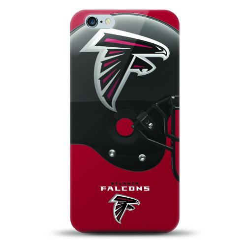 [MIZCO] Apple iPhone 7 Plus (5.5 inch) Case, Helmet Series NFL Licensed [Atlanta Falcons] Slim & Flexible Anti-shock Crystal Silicone Protective TPU Gel Skin Case Cover