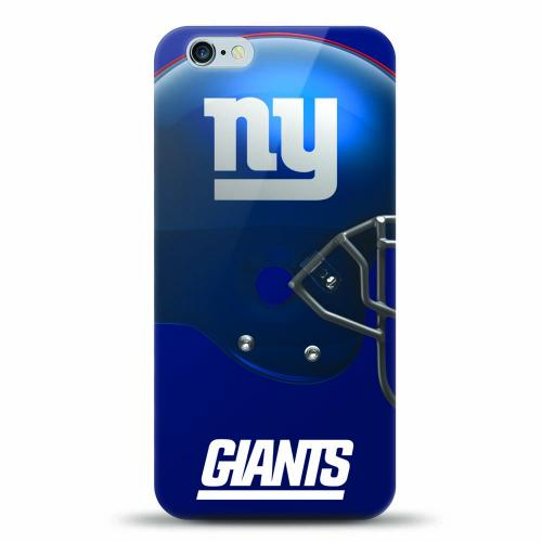 [MIZCO] Apple iPhone 7 Plus (5.5 inch) Case, Helmet Series NFL Licensed [New York Giants] Slim & Flexible Anti-shock Crystal Silicone Protective TPU Gel Skin Case Cover