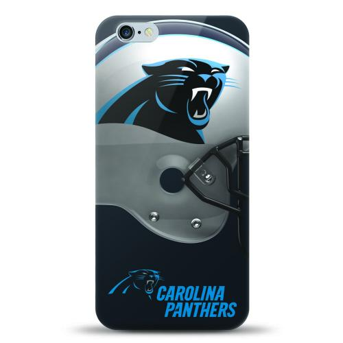 [MIZCO] Apple iPhone 7 Plus (5.5 inch) Case, Helmet Series NFL Licensed [Carolina Panthers] Slim & Flexible Anti-shock Crystal Silicone Protective TPU Gel Skin Case Cover