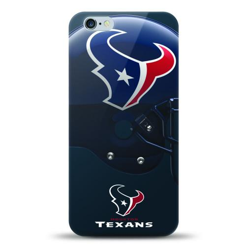 [MIZCO] Apple iPhone 7 Plus (5.5 inch) Case, Helmet Series NFL Licensed [Houston Texans] Slim & Flexible Anti-shock Crystal Silicone Protective TPU Gel Skin Case Cover
