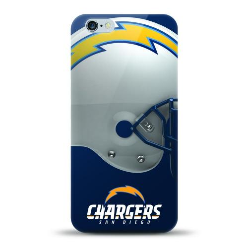 [MIZCO] Apple iPhone 7 (4.7 inch) Case, Helmet Series NFL Licensed [San Diego Chargers] Slim & Flexible Anti-shock Crystal Silicone Protective TPU Gel Skin Case Cover