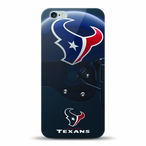 [MIZCO] Apple iPhone 7 (4.7 inch) Case, Helmet Series NFL Licensed [Houston Texans] Slim & Flexible Anti-shock Crystal Silicone Protective TPU Gel Skin Case Cover