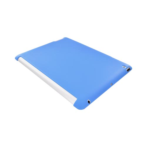 Apple iPad 2/ New iPad Crystal Silicone Case - Light Blue