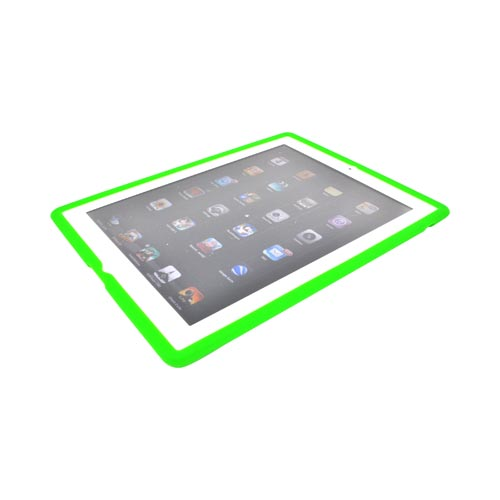 Apple iPad 2, New iPad Silicone Case - Green