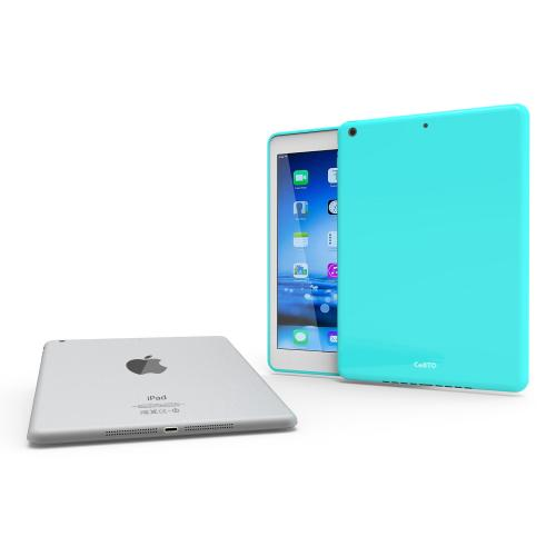 Mint Anti-Slip TPU Crystal Silicone Skin Case for Apple iPad Air