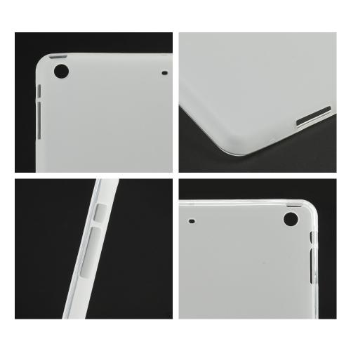 Frosted Clear Crystal Silicone Skin Case for Apple iPad Air