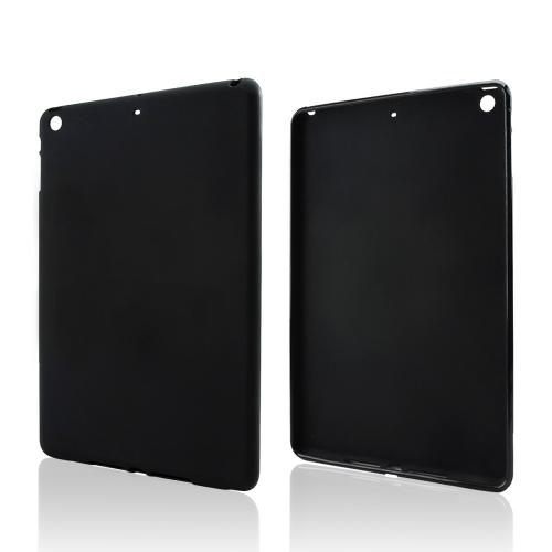 Manufacturers Black Crystal Silicone Skin Case for Apple iPad Air Silicone Cases / Skins