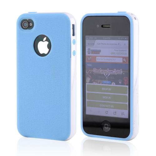 Apple iPhone 4 Crystal Silicone Case - Blue