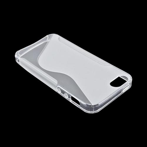 Apple iPhone 5/5S Crystal Silicone Case - Clear S