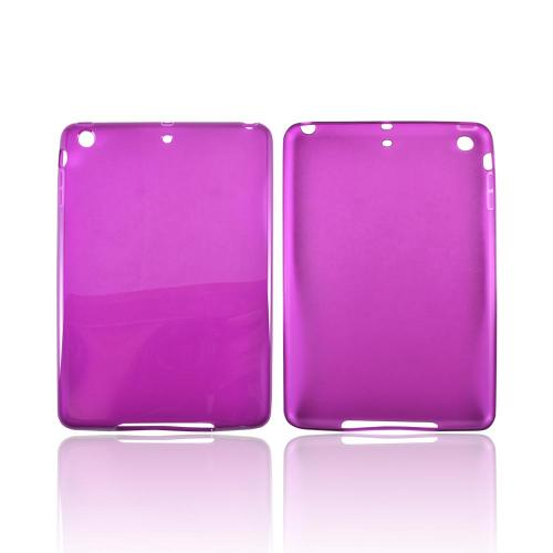 Apple iPad Mini Crystal Silicone Case - Purple