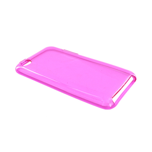 Luxmo Apple iPod Touch 4 Crystal Silicone Case - Transparent Hot Pink