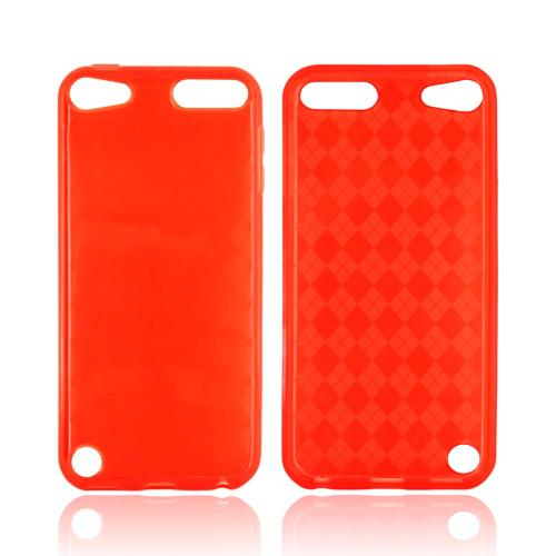 Apple iPod Touch 5 Crystal Silicone Case - Red