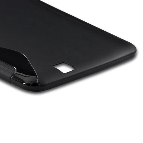Black S Crystal Silicone Case for Amazon Kindle Fire HD
