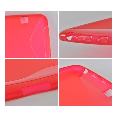 Red S Crystal Silicone Case for Amazon Kindle Fire HD