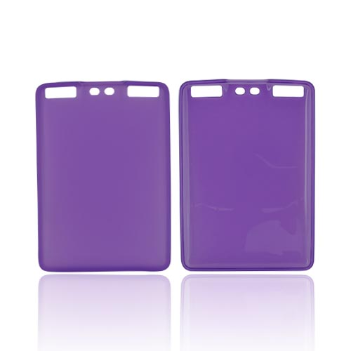 Amazon Kindle Touch Textured Crystal Silicone Case - Purple