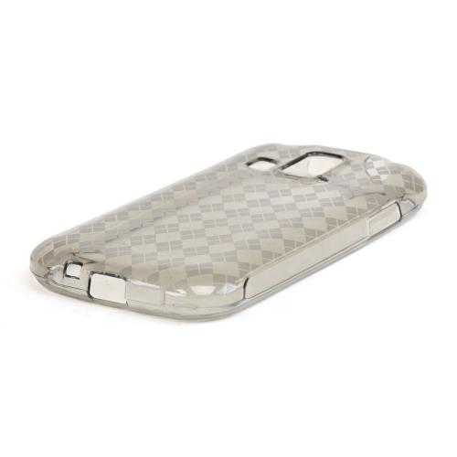 Argyle Smoke Crystal Silicone Skin Case for Kyocera Hydro XTRM