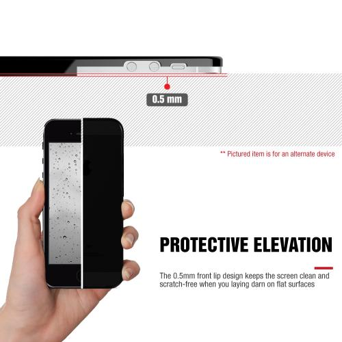 LG Class Case, [Black] Slim & Flexible Crystal Silicone TPU Protective Case
