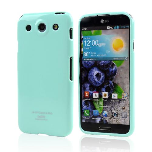 Mint Crystal Silicone Skin Case for LG Optimus G Pro
