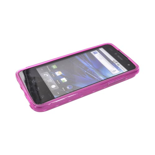 T-Mobile G2X Crystal Silicone Case - Argyle Pink