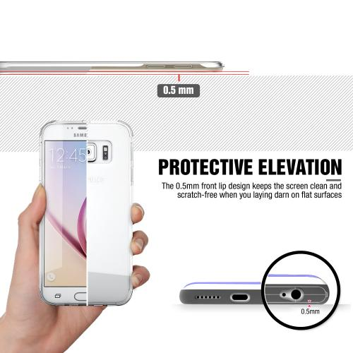LG G3 Case, [Clear]  Slim & Flexible Anti-shock Crystal Silicone Protective TPU Gel Skin Case Cover