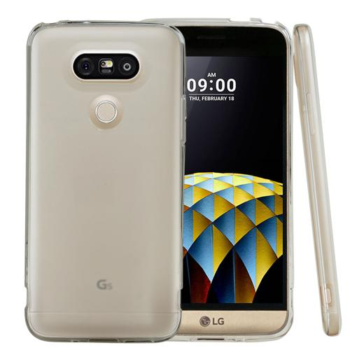 LG G5 Case, REDshield [Frost Clear] Slim & Flexible Anti-shock Crystal Silicone Protective TPU Gel Skin Case Cover