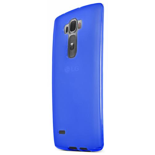 G Flex 2 Case, [Blue / Frost] Slim & Flexible Crystal Silicone TPU Skin Cover for LG G Flex 2