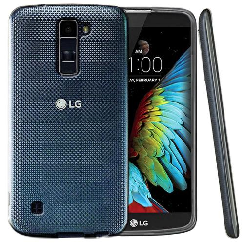 [LG K10] Case, REDshield [Frost Clear] Slim & Flexible Anti-shock Crystal Silicone Protective TPU Gel Skin Case Cover